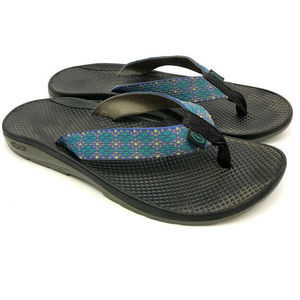 Chaco Thong Sandals Womens 9 Webbing Vibram